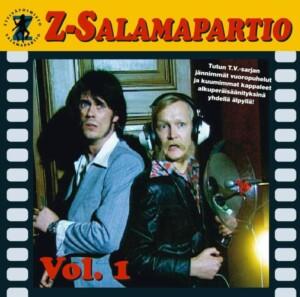 """Studio Julmahuvin Z-Salamapartio-sketsin musiikkia ilmestyy vinyylinä – mukana myös """"tv-sarjasta tuttuja läpändeeroksia"""""""