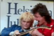 Kirka Helsingin juhlaviikoilla 1986 Dio We Rock