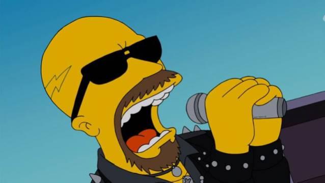 Simpsons Rob Halford